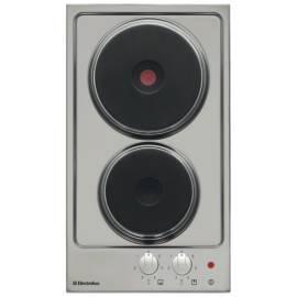 ELECTROLUX Elektrische Heizplatte EHE 30200 X Edelstahl - Anleitung
