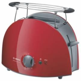 Toaster BOSCH Private Collection TAT6104 grau/rot Bedienungsanleitung
