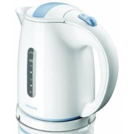PHILIPS Wasserkocher HD 4646/70 weiß/blau Gebrauchsanweisung