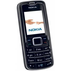 Handbuch für Mobiltelefon Nokia 3110 Classic schwarz