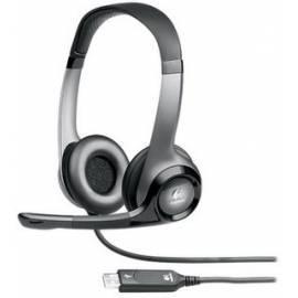 Headset LOGITECH ClearChat Pro (981-000011) schwarz/grau Bedienungsanleitung