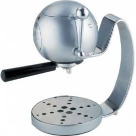 Espresso ARIETE-SCARLETT SIE &  MICH 1323 Silber Gebrauchsanweisung