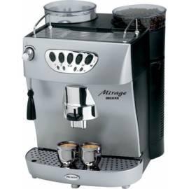 Bedienungshandbuch Espresso ARIETE-SCARLETT Migare DeLuxe 1326 Silber