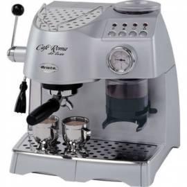 Service Manual Espresso ARIETE-SCARLETT DeLuxe 1329 Silber