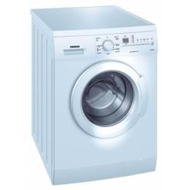 Benutzerhandbuch für Waschvollautomat SIEMENS WM 12E361 WOULD