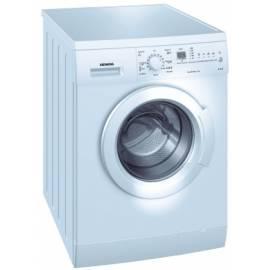 Bedienungsanleitung für Waschvollautomat SIEMENS WM 10E361 WOULD