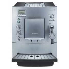 Espresso SIEMENS TK 65001 Silber Bedienungsanleitung