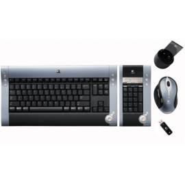 Datasheet Tastatur mit Maus LOGITECH DiNovo Media Desktop Laser (967562 - 0924-)