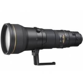 Bedienungsanleitung für Objektiv NIKON 600 mm F4 AF-S VR G IF-ED schwarz