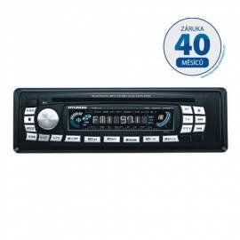 Bedienungshandbuch CD-Autoradio mit HYUNDAI-CRMB1122 schwarz