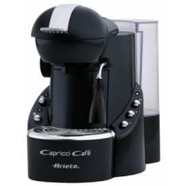 Espresso: ARIETE-SCARLETT Caprici Cafe MC 55 (1346.1) auf die Kapsel schwarz Bedienungsanleitung
