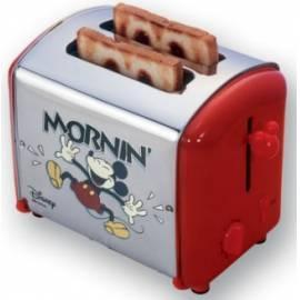 Toaster: ARIETE-Disney 116 SCARLETT Red Bedienungsanleitung