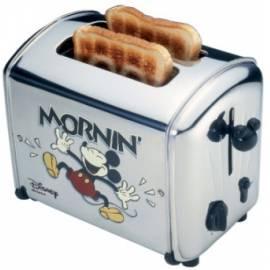Handbuch für Toaster ARIETE-SCARLETT Disney 116 Edelstahl
