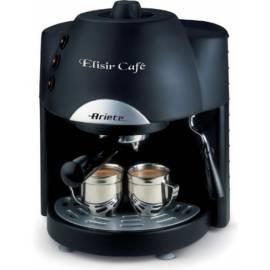 ARIES-SCARLETT Elixir Espresso Kaffee 1331 schwarz - Anleitung