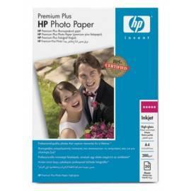 Papier für Drucker HP Premium plus glossy C6832A (C6832HF) weiß Bedienungsanleitung