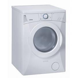 Bedienungsanleitung für Automatische Wasch-Maschine GORENJE Classic WA 61101 weiße Farbe