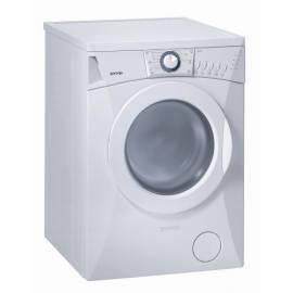 PDF-Handbuch downloadenGorenje Waschmaschine WA 62121