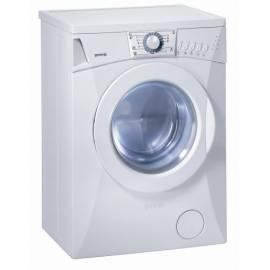 bedienungsanleitung f r automatische waschmaschine gorenje deutsche bedienungsanleitung. Black Bedroom Furniture Sets. Home Design Ideas