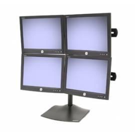 Monitorhalterung ERGOTRON DS100 Quad Monitor (33-324-200) schwarz - Anleitung