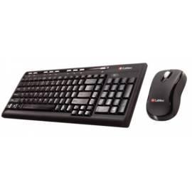 Tastaturmaus LABTEC Media Wireless Desktop 800, GB-Version, wireless Set (920-000317) schwarz - Anleitung