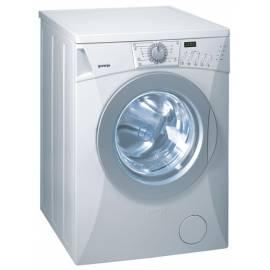 Waschmaschine GORENJE WA 72125 exklusive reinweiß Bedienungsanleitung