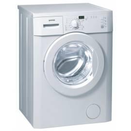 Bedienungsanleitung für Waschmaschine GORENJE WS 40109