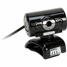 Webcamera MSI StarCam Clip II (STARCAM CLIP II B) schwarz Gebrauchsanweisung