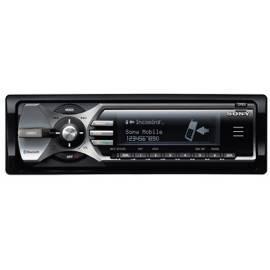 PDF-Handbuch downloadenAuto Radio Sony MEXBT5100.EUR, CD/MP3, Bluetooth