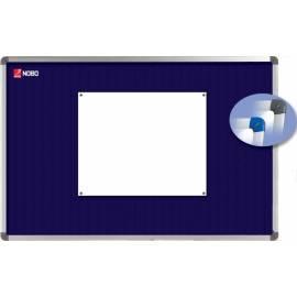 Bedienungsanleitung für NOBO ELIPSE blau Textile Board (ABT-00: 1900914)