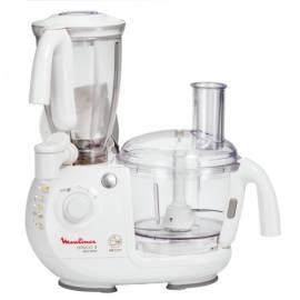 Bedienungshandbuch Küche Roboter FP 721 Moulinex Odacio 3