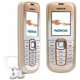 Handbuch für Handy Nokia 2600 classic, Gold (SandyGold)