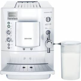 Espresso SIEMENS TK69001 weiß - Anleitung