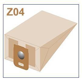 Bedienungshandbuch Taschen für ZELMER-Staubsauger ab 04 Papier Filter