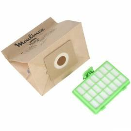 Handbuch für MOULINEX Staubsauger Beutel für Filter MT000101