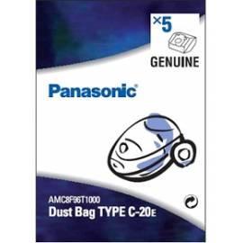 Datasheet PANASONIC Staubsaugerbeutel für AMC-8F96-T1000