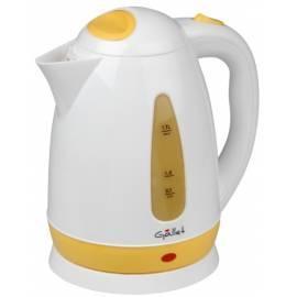 Wasserkocher GALLET BOU 889 WY weiß/gelb - Anleitung