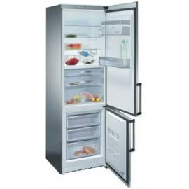 Kombination Kühlschrank Mit Gefrierfach, SIEMENS KG39FP98 Edelstahl