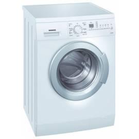 Datasheet die Waschmaschine SIEMENS WS 12 X 361 BY