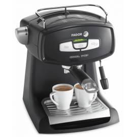 Bedienungshandbuch Espresso FAGOR CR-14 schwarz/silber
