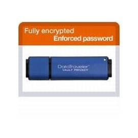 PDF-Handbuch downloadenUSB-flash-Disk KINGSTON DataTraveler Vault 16GB USB-2.0-de (DTVP / 16GB) blau