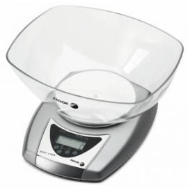 Küchenwaage FAGOR BC-200 Silber Gebrauchsanweisung
