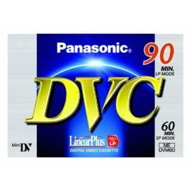 Bedienungshandbuch PANASONIC Videokazeta AY-DVM60FE MiniDV-High-Grade