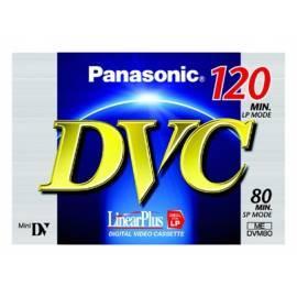 Service Manual Die Kassette in der Videokamera PANASONIC Video tape MiniDV AY-DVM80FE (KS) High Grade