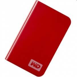 Benutzerhandbuch für HDD Western Digital My Pass.Essential 320GB USB Rot