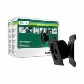 Bedienungsanleitung für Monitorhalterung, DIGITUS DA-90307, drehbar, schwarz