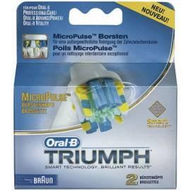 Zubehör für Pinsel, BRAUN EB 25-2 MicroPulse weiss/blau - Anleitung