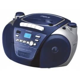 Handbuch für HYUNDAI TRC561A3 CD Radio Kassette mit blau