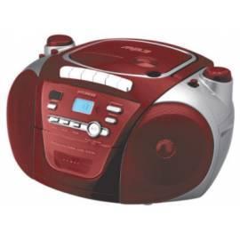 Bedienungshandbuch Boombox mit CD HYUNDAI TRC 561 A3 rot