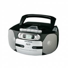 Boombox mit CD HYUNDAI TRC 666 A3 schwarz - Anleitung