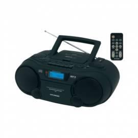 HYUNDAI TRC702DRU3 CD Radio Kassette mit schwarz Gebrauchsanweisung
